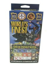 DC Dice Masters Dicemasters World`s Finest Starter Set WZK 72234 New - $12.59