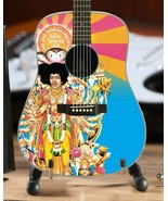 JIMI HENDRIX - Axis: Bold as Love Acoustic 1:4 Scale Replica Guitar ~Axe... - $32.66