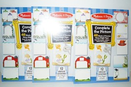 Melissa & Doug Complete The Picture Pad (Set Of 24) - $13.97