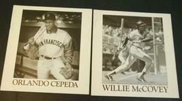 1988 Giants Books: Willie McCovey & Orlando Cepeda Woodford Publishing EXMT - $9.89