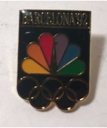 Collectible NBC Media Network News 1992 Barcelona Spain Summer Olympic L... - $12.80