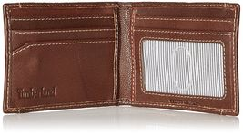 Timberland Men's Premium Genuine Leather Money Clip Credit Card Id Wallet image 9