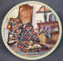 WARM RETREAT Cozy Country Corners Collector Plate Hannah Hollister Ingmire 1990 - $24.95