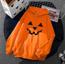 Halloween Hoodie Sweatshirt Pullover Women Sweater (E) Ship From USA image 1