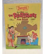Flintstones 1990 Denny's Unused Fun Book - Comics, Puzzles, Games - Volu... - $4.95