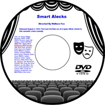 Smart Alecks 1942 DVD Movie Comedy Leo Gorcey Bobby Jordan Huntz Hall Ga... - $3.99
