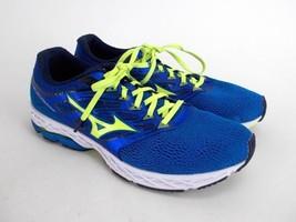 MIZUNO Wave Shadow Blue / Yellow Athletic Running Shoes Men's Sz 10 #410... - $39.60