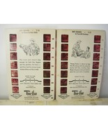 Roy Rogers 1950s True-Vue Film Cards Lot (2) - $17.10