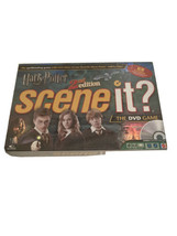 Harry Potter Scene It? 2nd Edition DVD Board Game Mattel Complete New Se... - $43.69