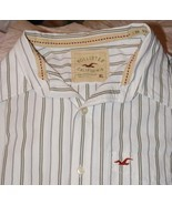 Hollister Mens Button Down Shirt Size X Large   Great Buy! - $15.95