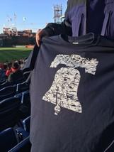 PHILADELPHIA PHILLIES Liberty Bell OPENING NIGHT Promo MLB Baseball T-Sh... - $29.70