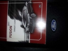 Owners Manual 2011 Ford Fusion 813008 - $35.68