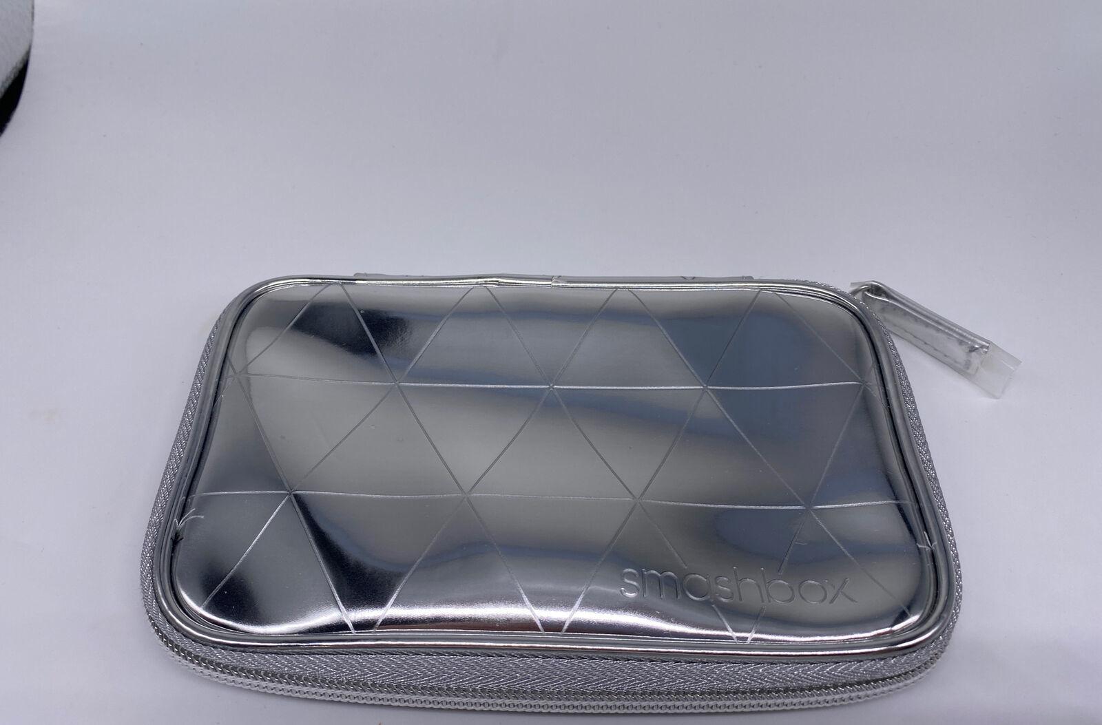 Smashbox Metallic Silver Makeup Bag - $12.86
