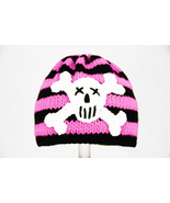 Pirate Hat for Girls, Handmade Black and Pink B... - $28.00