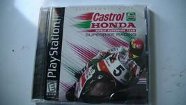Castrol Honda Superbike Racing (Sony PlayStation 1, 1999) Video Game - $4.80