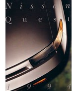 1994 Nissan QUEST sales brochure catalog 2nd Edition US 94 XE GXE - $6.00
