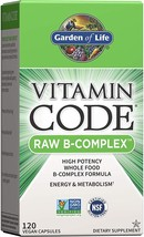 Garden of Life : Vitamin Code Raw B-Complex - 120 Capsules - $20.00
