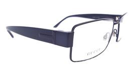 GUCCI Men's Frame Glasses GG2217 SemiMatt Blue Stainless Steel MADE IN I... - $199.95