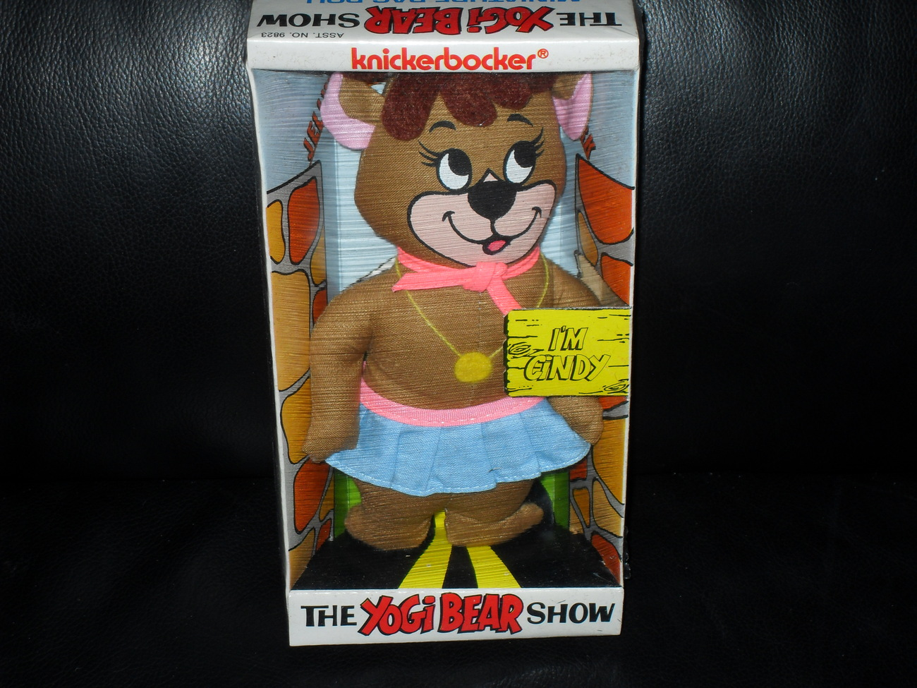 Vintage 1973 Yogi Bear Show Cindy Bear Rag Doll New In Box
