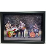"George Harrison 10"" Replica Guitar custom framed, one of a kind - $142.45"