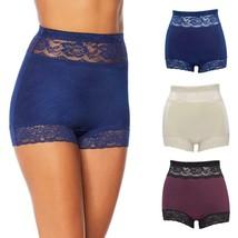 Rhonda Shear 3-pack Pin Up Panty Set in Darks, 3X (622401) - $28.70
