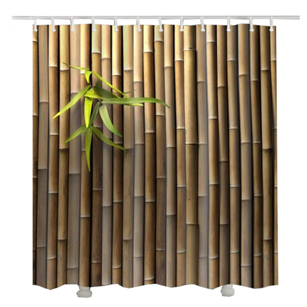 Primary image for new bamboo shower curtainwaterproof 2017 cheap douchegordijn hot sale bathroom a