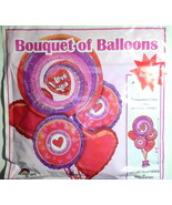 Mylar Balloon Bouquet Valentine's Day Lot of 11... - $19.99