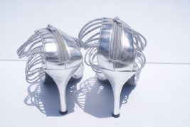 Sandal Women's Stripe High Size Toe Silver Your Chose Heel Open Anna F7wx5Hqq