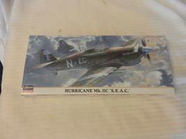 """Hasegawa Hurricane Mk. IIC """"S.E.A.C."""" Fighter 1/72 Scale Model Kit #00648 - $29.70"""