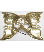 Mardi Gras Mask Golden Butterfly - $4.00