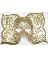Mardi Gras Mask Golden Butterfly (Item #2) - $3.00