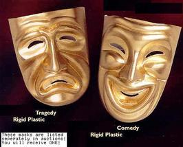 Mardi Gras Theater Comedy Mask >:) - $10.00