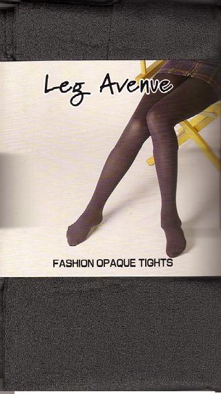 GRAY OPAQUE TIGHTS ONE SIZE ADULT