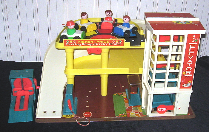GARAGE FISHER PRICE VINTAGE par Retour de chine