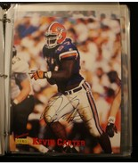 Kevin Carter 8x10 Inch Signed College Photo with COA # 2002 of 3005 - $19.79