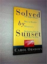 Solved By Sunset: The Right Brain Way to Resolve Whatever's Bothering You in One image 2