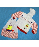 Hush Puppies  Sz 24 mo. Sunsuit & Hoodie Jacket  - $7.99