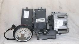 08 Mini Cooper R55 ECU ECM DME CAS3 Computer Ignition Switch Fob Tach SET - 6spd image 1