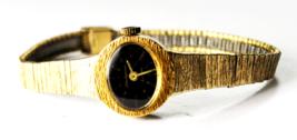 Vintage Womens Jules Jurgensen Mahogany Dial Manual Wind Wristwatch 19mm... - $49.49