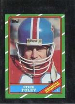 1986 Topps Set Break #123 Steve Foley Exmt *C15770 - $0.99