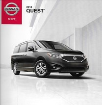 2013 Nissan QUEST sales brochure catalog US 13 SV SL LE - $6.00