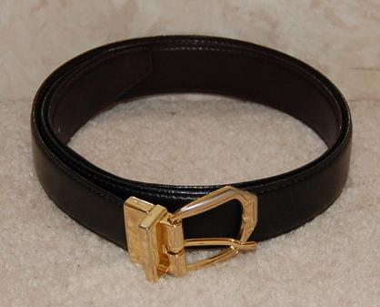 Mens black belt