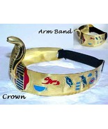 Halloween Costume Cleopatra Cobra Crown & Arm Band Set - $30.12