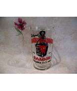 Original Bucket of Blood Saloon Casino Beer Glass Vintage Souvenir Virgi... - $9.99
