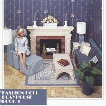 Fashion Doll Playhouse Book 1 Plastic Canvas Patterns - $14.99