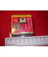 Defender U-9575 Lock and Door Reinforcement Solid Brass - $10.19