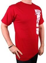 NEW NWT LEVI'S MEN'S PREMIUM CLASSIC GRAPHIC COTTON T-SHIRT SHIRT TEE RED image 2