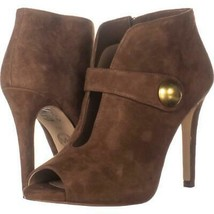 MICHAEL Michael Kors Agnes Studded Cut-Out Pointed Toe Heels 073, Dark Caramel, - $147.83