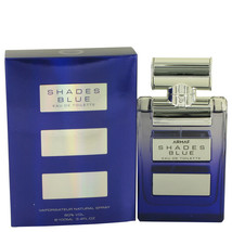 Armaf Shades Blue Eau De Toilette Spray 3.4 Oz For Men  - $29.23