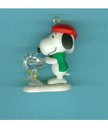 Sold Winter Fun With Snoopy 2010 Hallmark Miniature Ornament Christmas - $5.99